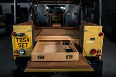 Form, function and style - Twisted TD5 Retro Edition rear load area