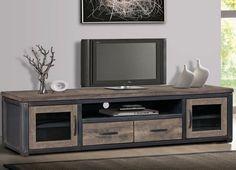 Industrial Entertainment CenterTV Stand Reclaimed Wood Style Storage Cabinet #TransitionalVintageDistressedUrbanIndustria