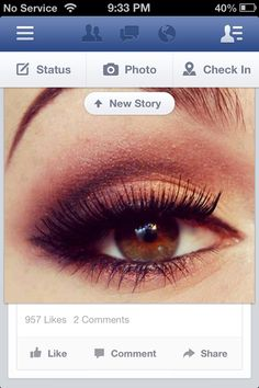 For hazel and brown eyes makeup