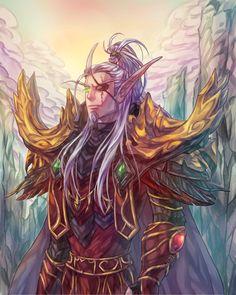 Lor'themar Theron by gemkimart.deviantart.com on @DeviantArt