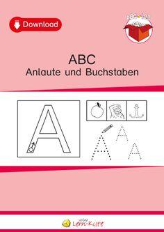 abc anlaute und buchstaben a a lernen anlaute buchstaben lernen alphabet. Black Bedroom Furniture Sets. Home Design Ideas