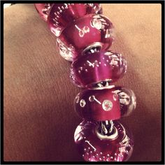 A girl can never have enough pink. #trollbeads