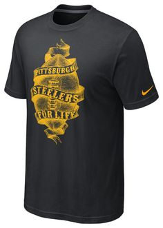 2cedbbcc7777 Nike Steelers Tri-Blend Life T-Shirt Steelers T Shirts