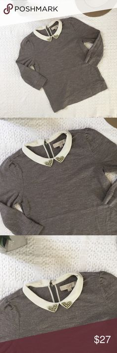 LOFT Peter Pan Collar Blouse Super cute Peter Pan collar LOFT blouse! NWOT, size medium, perfect for the fall! 💕 LOFT Tops Blouses