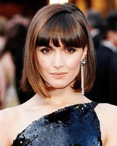 Medium Bob Hairstyles With Bangs 2013 ~ http://wowhairstyle.com/the-medium-bob-hairstyles-in-2013/