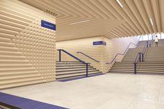 Variant Studio's Moscow Metro Proposal: The World's Quietest Metro Station?