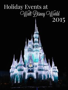 Planning a visit to Walt Disney World during the 2015 holiday season? Get a sneak peek at all the attractions, decorations, and special events in every park.