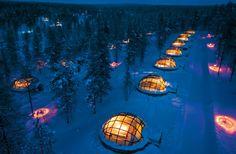 hotel & igloo village kakslauttanen, saariselkä, finnland (by risto eräepohja & jussi eiramo).