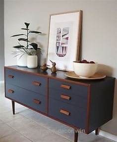 Awesome •○• RETRO 1960'S ALROB TEAK CHARCOAL SIDEBOARD / DRAWERS •○• DANISH SCANDI STYLE  The post  •○• RETRO 1960'S ALROB TEAK CHARCOAL SIDEBOARD / DRAWERS •○• DAN…  appeared first on  Home De ..