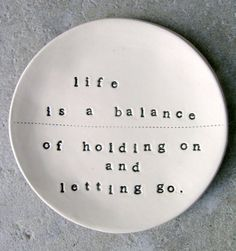 holding on & letting | http://exploringuniversecollections.blogspot.com