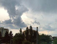 #clouds #gewitterwolken