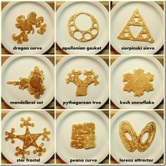 Ugly Pancakes - Pancake Art Who doesn't like pancakes? They come in buttermilk, whole grain, and all sorts of arrangements for everyone in mind. These pancakes, however, just make me feel weird. Pancake Designs, Pancake Art, Math Art, 3d Prints, Breakfast For Kids, Breakfast Ideas, Balanced Breakfast, Perfect Breakfast, Breakfast Recipes