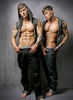 Owen and Lewis Harrison