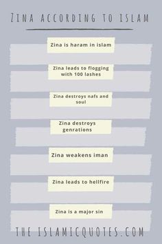 21 Best avoid zina images in 2019   Islam, Islamic quotes, Allah