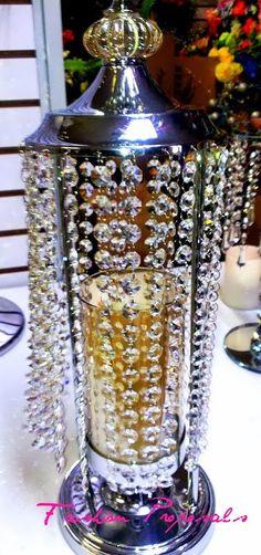 Candelabra Candle Holder Centerpiece. Moroccan by FashionProposals, $99.00