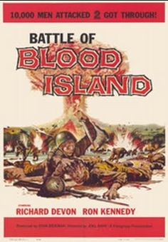 Battle of Blood Island    - FULL MOVIE - Watch Free Full Movies Online: click and SUBSCRIBE Anton Pictures  FULL MOVIE LIST: www.YouTube.com/AntonPictures - George Anton -   Two American GIs are the only survivors of a unit wiped out in a battle with Japanese troops on an isolated island. The two men hate each other, but try to put aside their differences to evade the Japanese and survive.  15 likes, 4 dislikes