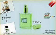 ★PROMOTII ★PRODUSE GRATIS★ ➡Aroma sticlutelor de parfum la alegere ➡Comenzile se pot efectua pe www.el-divino.ro ➡Promotiile nu va obliga la o anumita aroma de parfum sau la un anumit produs ➡D-voastra alegeti detaliile pentru cadouri din cadrul promotiilor iar o singura persoana poate comanda mai multe promotii in acelasi timp ➡Promotiile sunt valabile in limita stocului disponibil ➡Peste 200 lei, Transport GRATIS After Shave, Shaving, Gin, Perfume Bottles, Phone, Telephone, Aftershave, Perfume Bottle, Jeans
