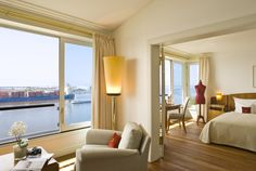 Elbe Suites at the Hotel Louis C. Jacob in Hamburg at the Elbchaussee Great Hotel, At The Hotel, Hotels And Resorts, Best Hotels, Luxury Hotels, Fine Hotels, Exotic Places, Trends, Hotel Reviews
