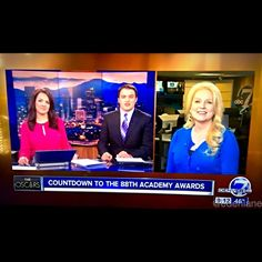 #COArts viewers are the best - thanks for another still from this morning @denver7_news #Oscars