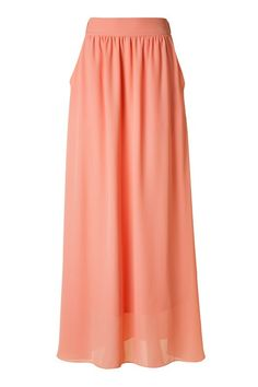 Marissa Maxi Skirt - Peach - Nobella Grace Boutique! Hello Spring! Great with a graphic tee or a lace tank! #nobellagrace