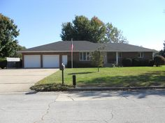 Come and enjoy what this all brick home has to offer in a quiet and well maintained neighborhood. Spacious 2 car garage and big lot. 2 Living areas with extra storage closet in family room. Kitchen flows into formal dining room. Off of the utility room storage houses hot water heater and furnace. Plenty of shelving and cabinets in utility room. Three Bedrooms with full bathroom in hallway and full bathroom in master bedroom...All three bedrooms have large closets in Aurora MO