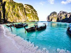 Maya Bay - #travel #tailândia #trip #beach #vacations