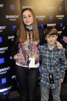 The Brothers : Madison Lintz and Matthew Lintz ♥ Perfect Madison Lintz, Walking Dead Cast, The Brethren, Divergent, Wii, It Cast, Actors, Style