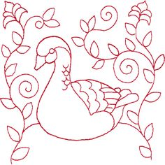 06 Geese A-Laying Christmas Applique, Christmas Sewing, Christmas Embroidery, Christmas Crafts, Christmas Ideas, Christmas Decorations, Christmas Ornaments, Hand Embroidery Patterns, Embroidery Applique