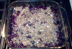 Blueberry Crisp is a Healthy Dessert Recipe