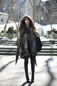 Pamela Love in Lindsey Thornburg Cloak