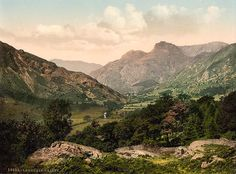 Great Langdale Valley, Cumbria, England | ... of Langdale in Cumbria, England, United Kingdom of Great Britain