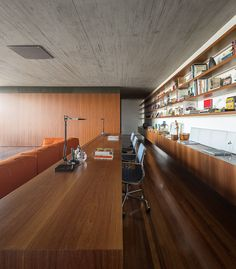 Casa P / Studio MK27 - Marcio Kogan + Lair Reis #homeoffice