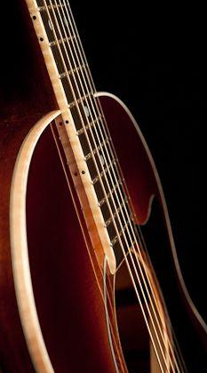 Mahogany Guitar with Sunburst, Lichty Guitars