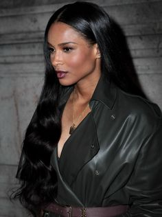 sincerely-ciara:9/25/14-Ciara at Lanvin's SS/15 Ready-To-Wear Collection show in Paris