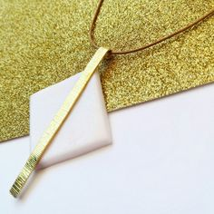 Simple Geometry necklace