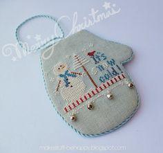 My Happy Memories: Little House Needleworks Ornament Exchange