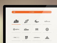 #Minimalistic #UI for Logofolio