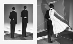 Surreal, yet timeless - Artis Noé Sendas transforms the most graphic SS 2015 b&w looks.