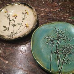 Lovely little dishes! Regram via @slashofblue