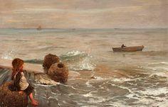~ August Wilhelm Nikolaus Hagborg ~ Swedish artist, 1852-1925