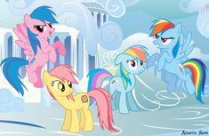 Firefly, Patch, Rainbow Dash, Rainbow Dash (Generations) by ~AquaticNeon on deviantART
