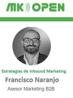 ¿Te gustaría conocer técnicas de #inboundmarketing?@francisconaranjomoreno nos presenta un buen mix en #MKOpen #Sevilla #aenoadigital  http://www.aenoa.com/mk-open/cth_speaker/francisco-naranjo/