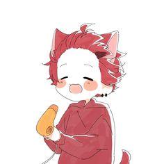 Cute Anime Character, Character Art, Character Design, Kawaii Cat, Kawaii Anime, Bebe Anime, Ocarina Of Times, Dibujos Cute, Fairy Tail Anime