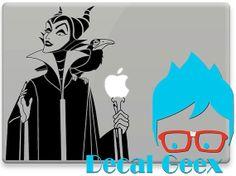 Vinyl Decal Wall or Macbook Maleficent Macbook Sleeping Beauty for MacbookiPad by DecalGeex, $8.99