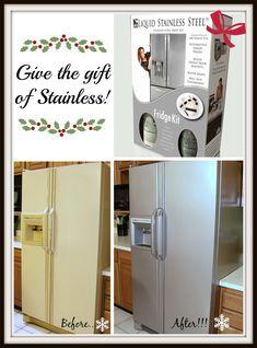 liquid stainless steel refrigerator kit stainless steel paint vanities and vanity tops. Black Bedroom Furniture Sets. Home Design Ideas