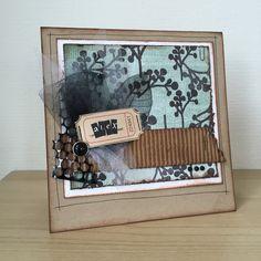 Handmade card scrapbooking
