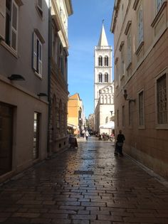 Streets of Zadar, Croatia