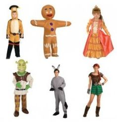 shrek group costumes - Google Search