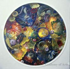 contemporari art, stain glass, ceil instal, art reef, honolulu academi