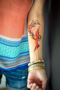 woman forearm phoenix tattoo woman arm tattoo phoenix tattoo - ankakirke - - w Phoenix Tattoo Arm, Phoenix Tattoo Feminine, Phoenix Tattoo Design, Best Tattoos For Women, Back Tattoo Women, Tattoo Designs For Women, Popular Tattoos, Tattoos Motive, Body Art Tattoos
